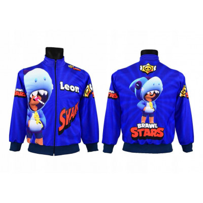 Mikina Brawl Stars  Leon Shark