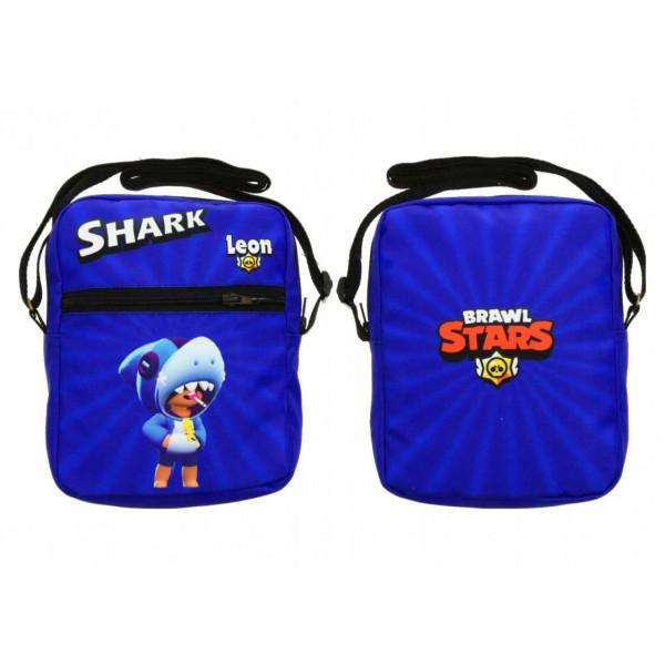 Taška přes rameno  Brawl Stars Leon Shark