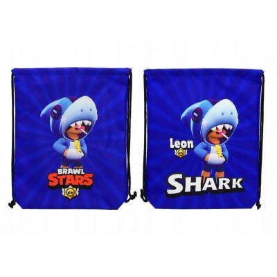 Brawl Stars | Vak - pytel přes rameno Brawl Stars Leon  Shark