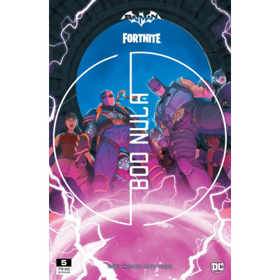 Komix Batman/Fortnite: Bod nula 5