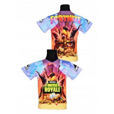 Tričko Fortnite   Battle Royale Gold