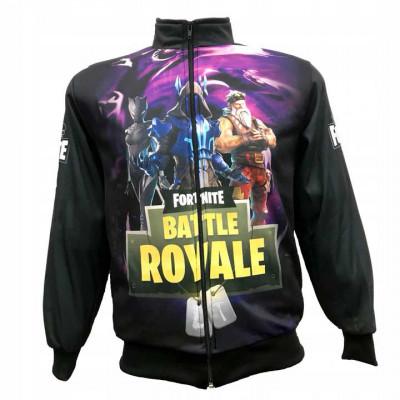 Mikina Fornite Battle Royale -fialová