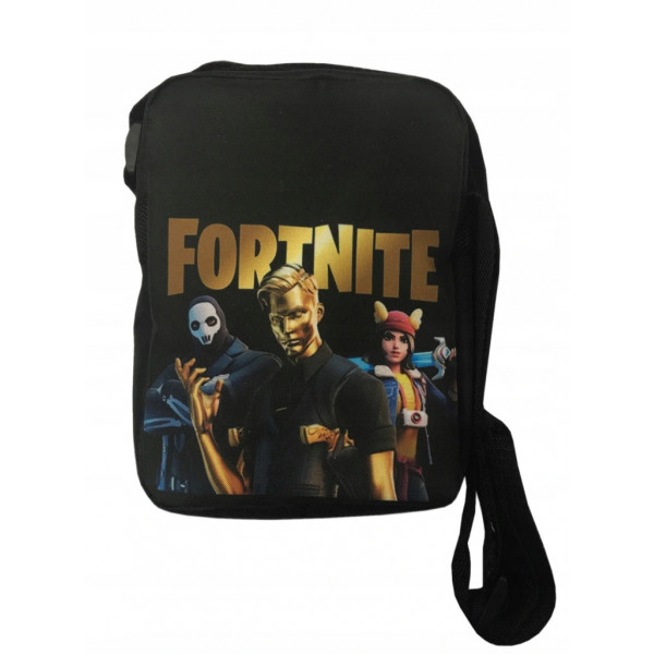 Taška přes rameno FORTNITE zlatý/černý