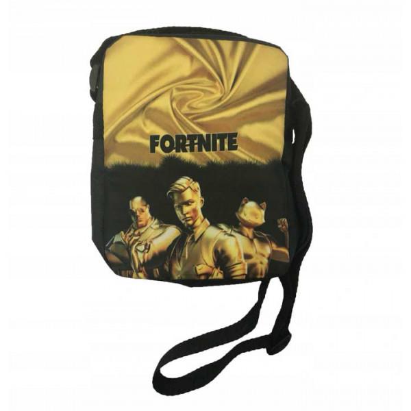 Taška přes rameno FORTNITE zlatý