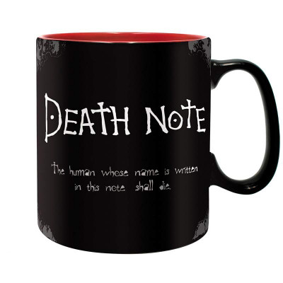 Hrnek DEATH NOTE  -  matný 460ml