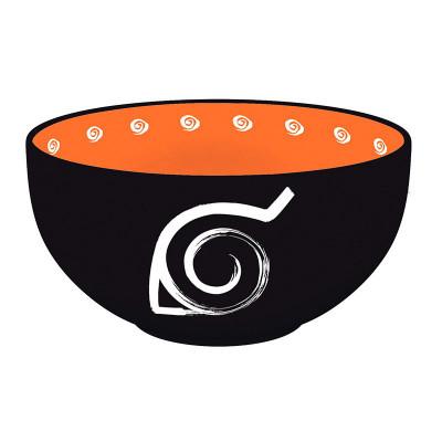 Mísa NARUTO SHIPPUDEN - 600 ml -  symbol konoha, pečeť  k uvěznění Kyubiho