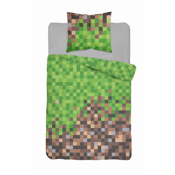 Minecraft | Povlečení  Minecraft design Pixely, bavlněné  140x200 70x90