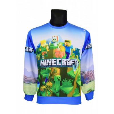 Mikina Minecraft  Original - bez zipu
