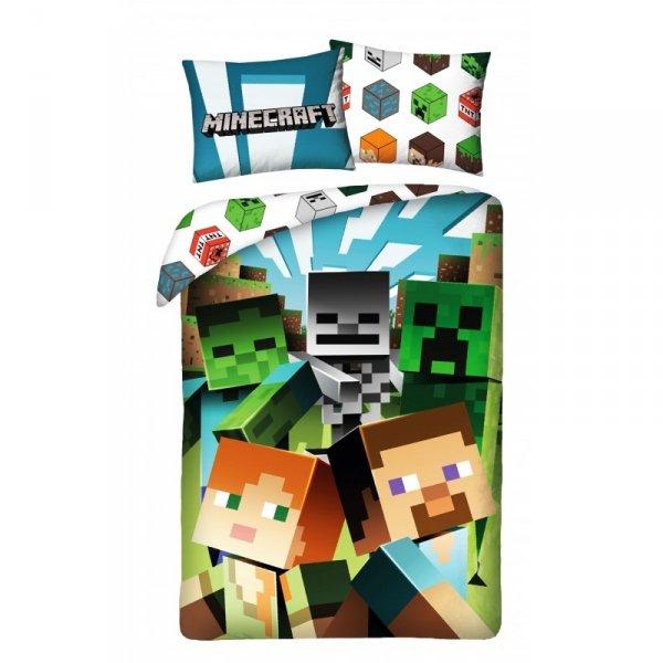 Minecraft | Povlečení  Minecraft, bavlněné 140x 200 cm