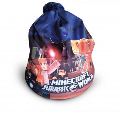 Čepice dětská MINECRAFT Jurassic World