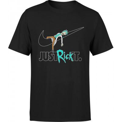 """Tričko RICK AND MORTY - """"Just Rick It"""""""