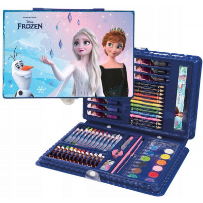 Frozen  | Kreativní sada - kufřík  71 dílů
