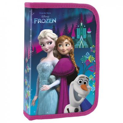 Frozen   Školní penál Frozen II bordo