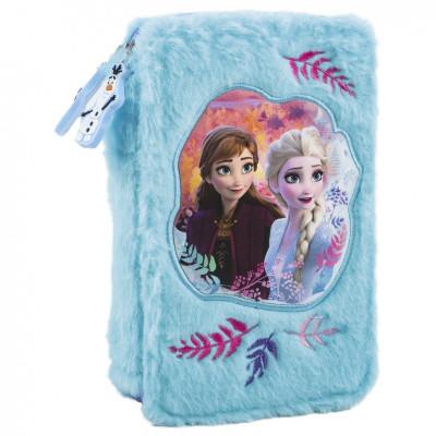 Frozen   Školní penál Frozen II  plyšové
