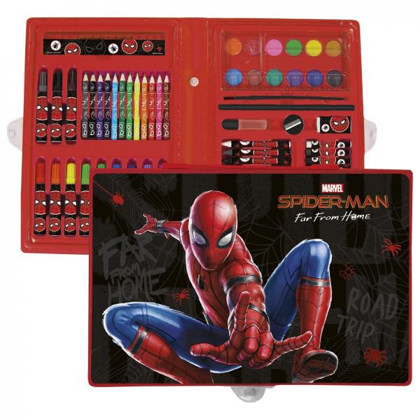 Spider-Man| Kreativní sada - kufřík  71 dílů