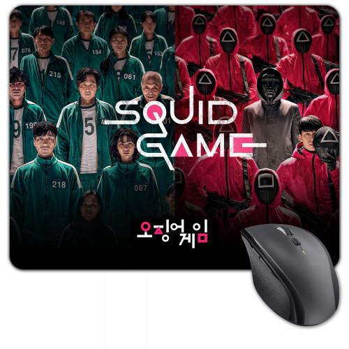 "Squid Game | Podložka pod myš Hra na oliheň, ""Squid Game"" látková"