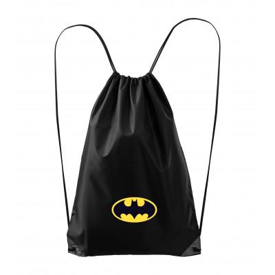 BATMAN   Vak - pytel přes rameno BATMAN logo, černý