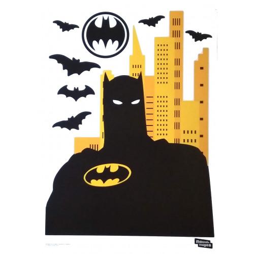 Batman | Mega samolepky na zeď, 70cm x 150 cm