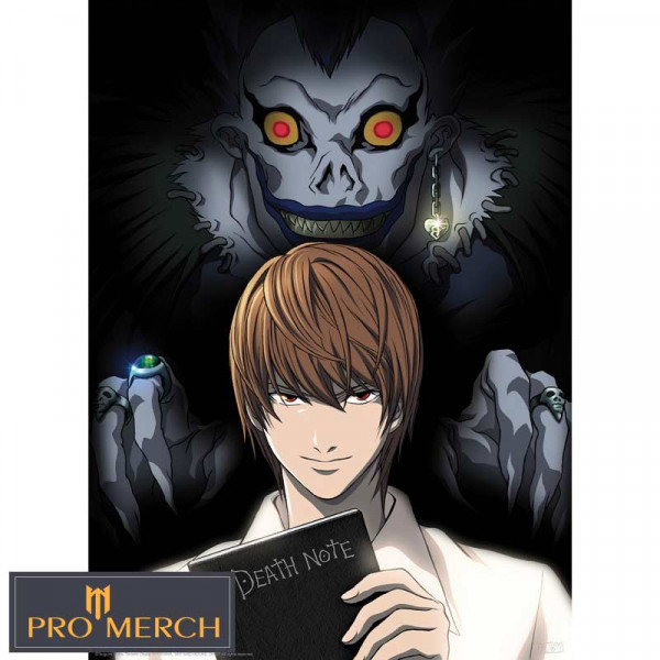 "Plakát DEATH NOTE, ""Light & Ryuk""  52cm x 38cm"