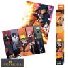 Sada  plakátů NARUTO SHIPPUDEN,  sada 2 plakátů Chibi 52cm x 38cm
