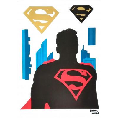 Superman  Samolepky na zeď