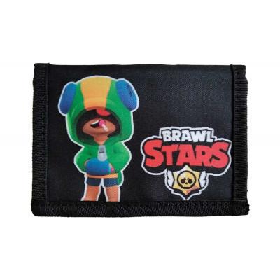 Dětská peněženka BRAWL STARS LEON černá