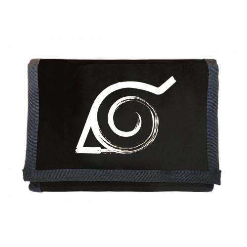 NARUTO | Peněženka  NARUTO SHIPPUDEN -   symbol konoha, pečeť k uvěznění Kyubiho