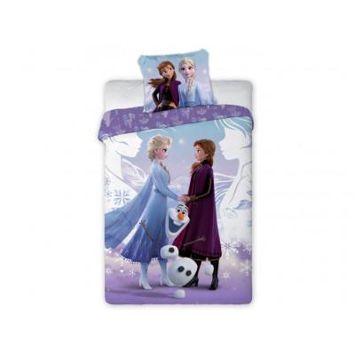 Frozen | Povlečení Frozen 2 -  Ledové Království Anna Elsa a Olaf, bavlněné   140x200, 70x90
